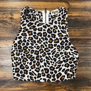 Show me your Mumu cheetah croptop
